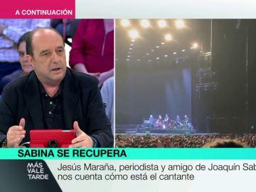 Jesús Maraña, periodista y amigo de Joaquín Sabina