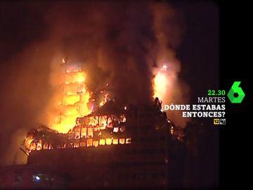Dónde estabas entonces viaja hasta el 2005, el año en el que se incendió el Windsor