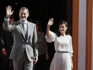 Los Reyes de España visitan Almonta