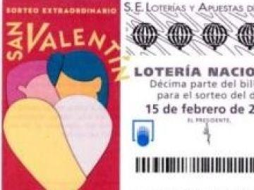 Sorteo Extraordinario de San Valentín