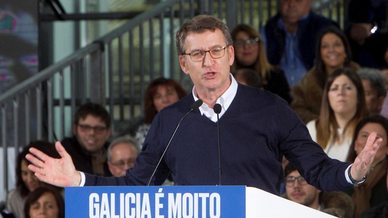 Alberto Núñez Feijóo presenta su candidatura a la Xunta de Galicia