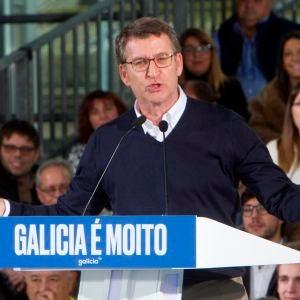 Alberto Núñez Feijóo, presidente de la Xunta de Galicia