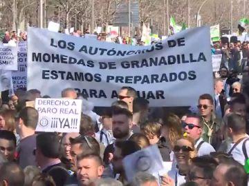 """Conciliación familiar, jubilación digna, derecho a una """"baja en condiciones"""".... las reivindicaciones de los autónomos españoles"""