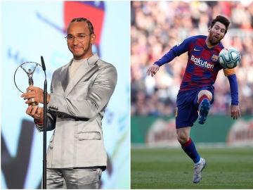 Lewis Hamilton y Leo Messi ganan el Laureus a Mejor Deportista del Años