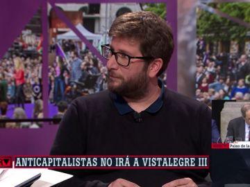 El eurodiputado Miguel Urbán