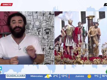 """La reacción de El Sevilla al revuelo en Raxó por el sorteo de un Satisfyer en las fiestas de San Gregorio: """"¡El pollo que se habrá montado!"""""""