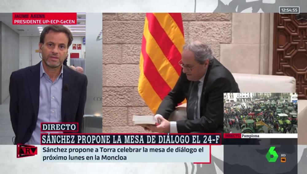 """Asens: """"Debemos sortear las minas que va dejando Junts en el camino del diálogo"""""""
