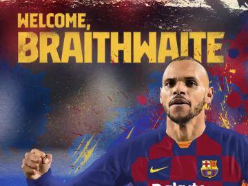 Braithwaite, nuevo jugador del FC Barcelona