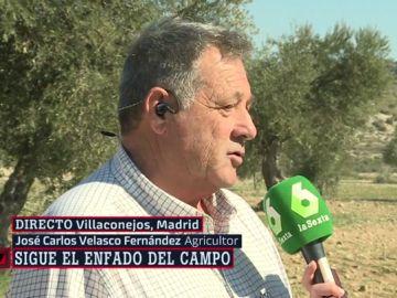 José Carlos Velasco, agricultor