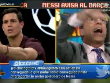 Edu Aguirre y Cristóbal Soria.