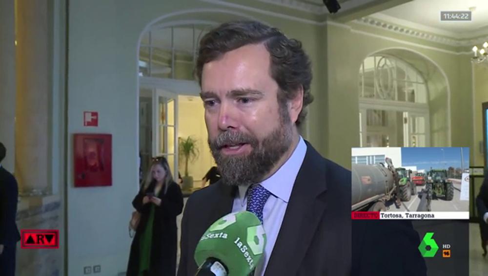 Espinosa de los Monteros afirma que Vox se reunirá con la Administración Trump