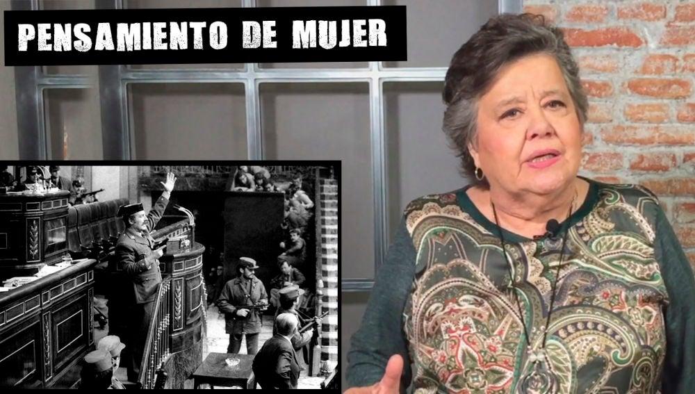 Cristina Almeida, sobre el 23F