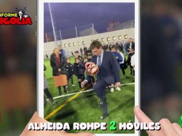 "Informe Mongolia, sobre el balonazo de Martínez Almeida: ""Este alcalde nos toca las pelotas"""