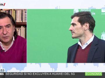 """La dedicatoria de Ángel Antonio Herrera a Iker Casillas por su candidatura para presidente de la RFEF: """"Lo tiene difícil pero ahí va como un campeón"""""""