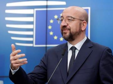 Imagen de archivo de Charles Michel, presidente del Consejo Europeo