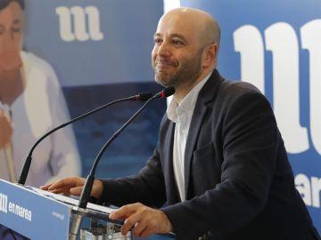 Imagen del portavoz de En Marea, Luis Villares.