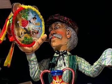 Carroza del desfile de Carnaval de Sciacca