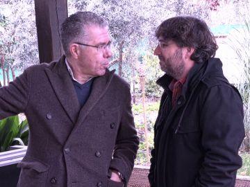 Francisco Granados y Jordi Évole