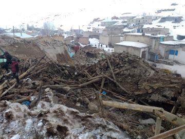 Este es el estado en el que han quedado algunas zonas en el este de Turquía tras el terremoto.
