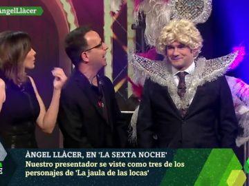 Los 'espectaculares' cambios de look de Iñaki López para salir airoso de los debates de laSexta Noche