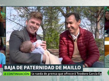 Fernando Martínez-Maillo muestra su lado más personal a Luis Troya: así está siendo su baja de paternidad