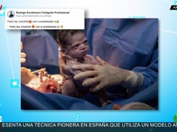 Isabela, la bebé que ha nacido 'enfadada' se hace viral por su cara de mal humor