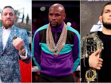 McGregor, Mayweather y Khabib