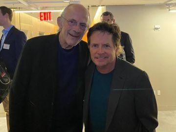 El reencuentro de Michael J. Fox y Christopher Lloyd