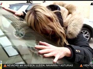 """Aruser@s de luto por el """"entierro de Forfi"""", el querido coche de María Moya"""