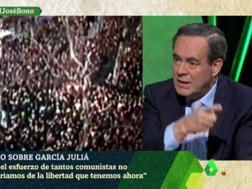 """José Bono: """"Si no hubiese sido por el esfuerzo de tantos comunistas no gozaríamos de la libertad que tenemos"""""""