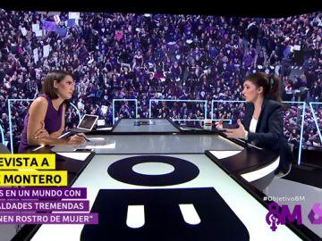 """Irene Montero: """"El feminismo es el movimiento con más capacidad transformadora"""""""