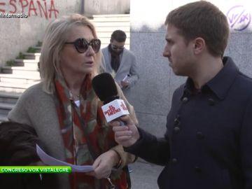Pablo Ibarburu acude al acto organizado por Vox en Vistalegre