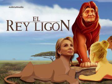 """'El Rey Ligón': la 'película' sobre las supuestas donaciones de Juan Carlos I, """"el verdadero rey de la selva"""""""