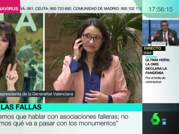 """La reacción de Mónica Oltra tras conocer el positivo en coronavirus de una diputada de Vox en Valencia: """"Lo siento muchísimo"""""""