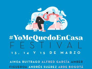#YoMeQuedoEnCasa Festival