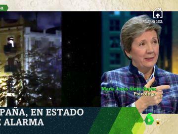 María Jesús Álava Reyes, psicóloga