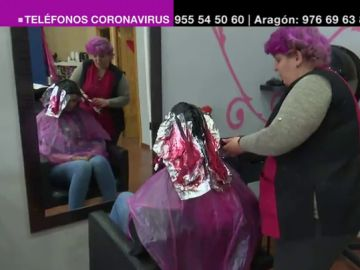 Imagen de una peluquería