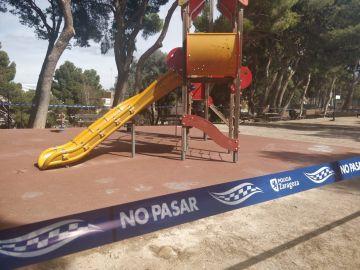Parques cerrados en Badajoz