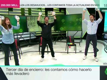 El entrenador personal Ángel Merchán nos propone una serie de ejercicios