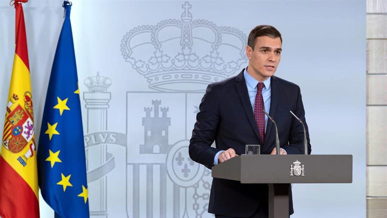 Pedro Sánchez, tras el Consejo de Ministros