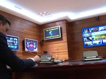 Primer Consejo de Ministros por vía telemática por el coronavirus