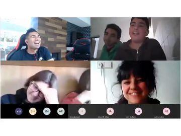 """Casemiro y su mensaje a unos niños: """"No pienso en ganar LaLiga, pienso en ganar al coronavirus"""""""