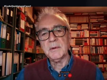"""Juan José Millas, sobre """"la policía de los balcones"""" que nos deja el confinamiento: """"Me parecen personajes terroríficos"""""""