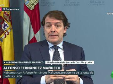 Alfonso Fernández Mañueco, presidente de la Junta de Castilla y León
