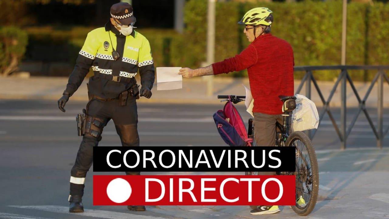 Coronavirus España   Última hora: Curva de contagios, datos y casos, noticias en directo