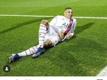 Publicación del PSG en su Instagram