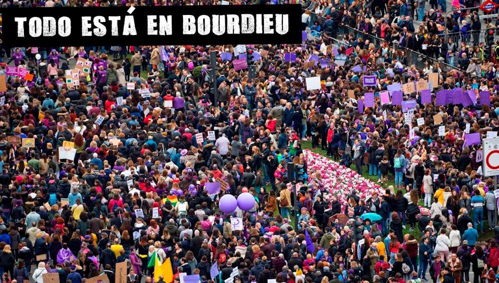 Imagen de la manifestación del 8M en Madrid