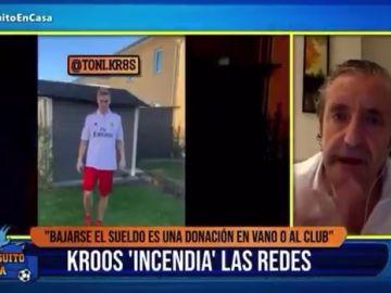 Pedrerol contesta a Kroos.