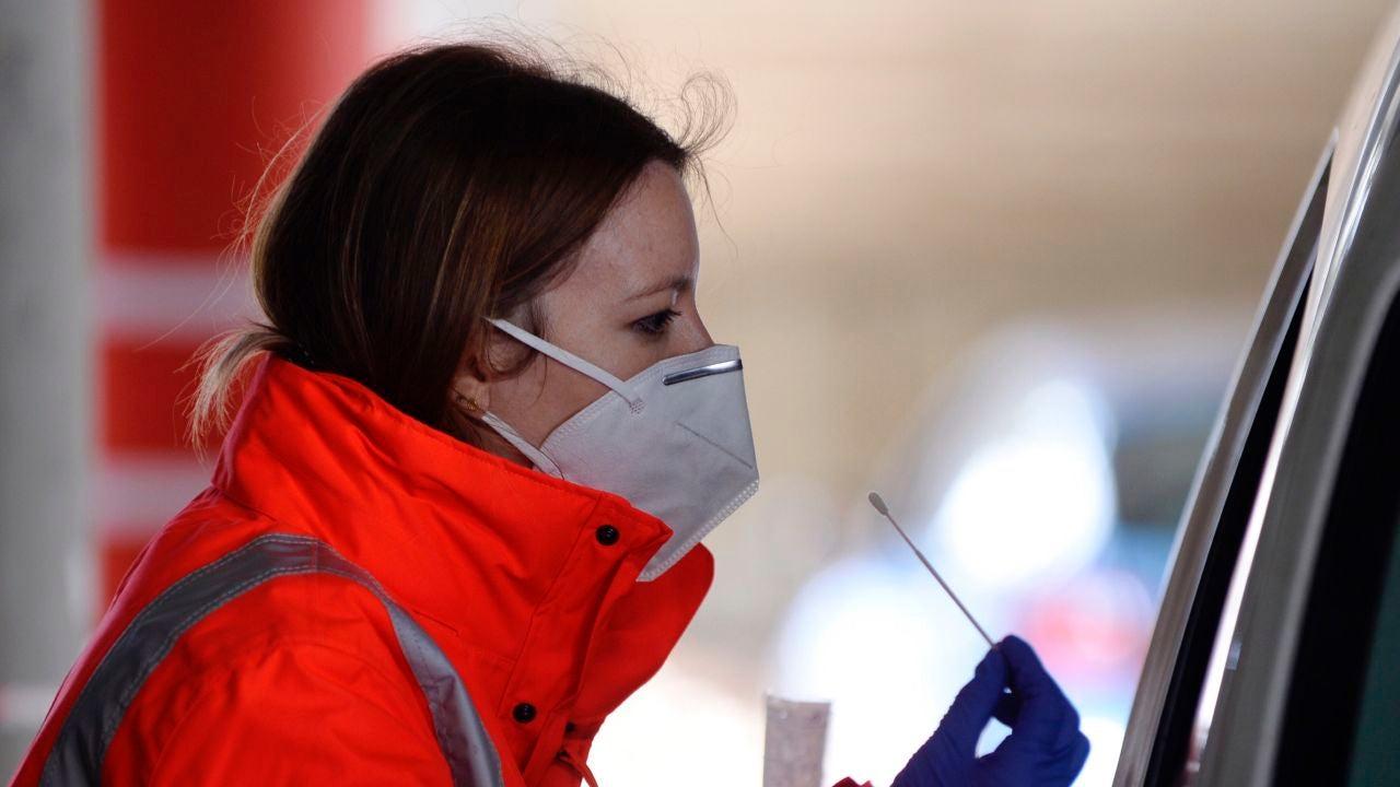 Test PCR de detección del coronavirus