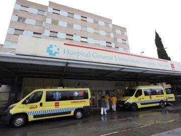 Vista exterior del Hospital General Universitario Gregorio Marañón en Madrid